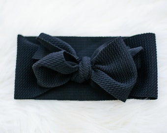 Black Stretchy Wrap