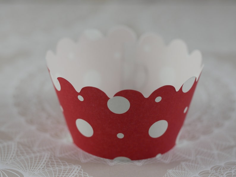 Party favor Set of 12 Cupcake Wrappers Mickey Mouse Mickey and Minnie themed Mickey Cupcake Wrapper Cupcake Wrappers