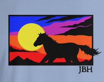 Mustang Sunset Short Sleeve