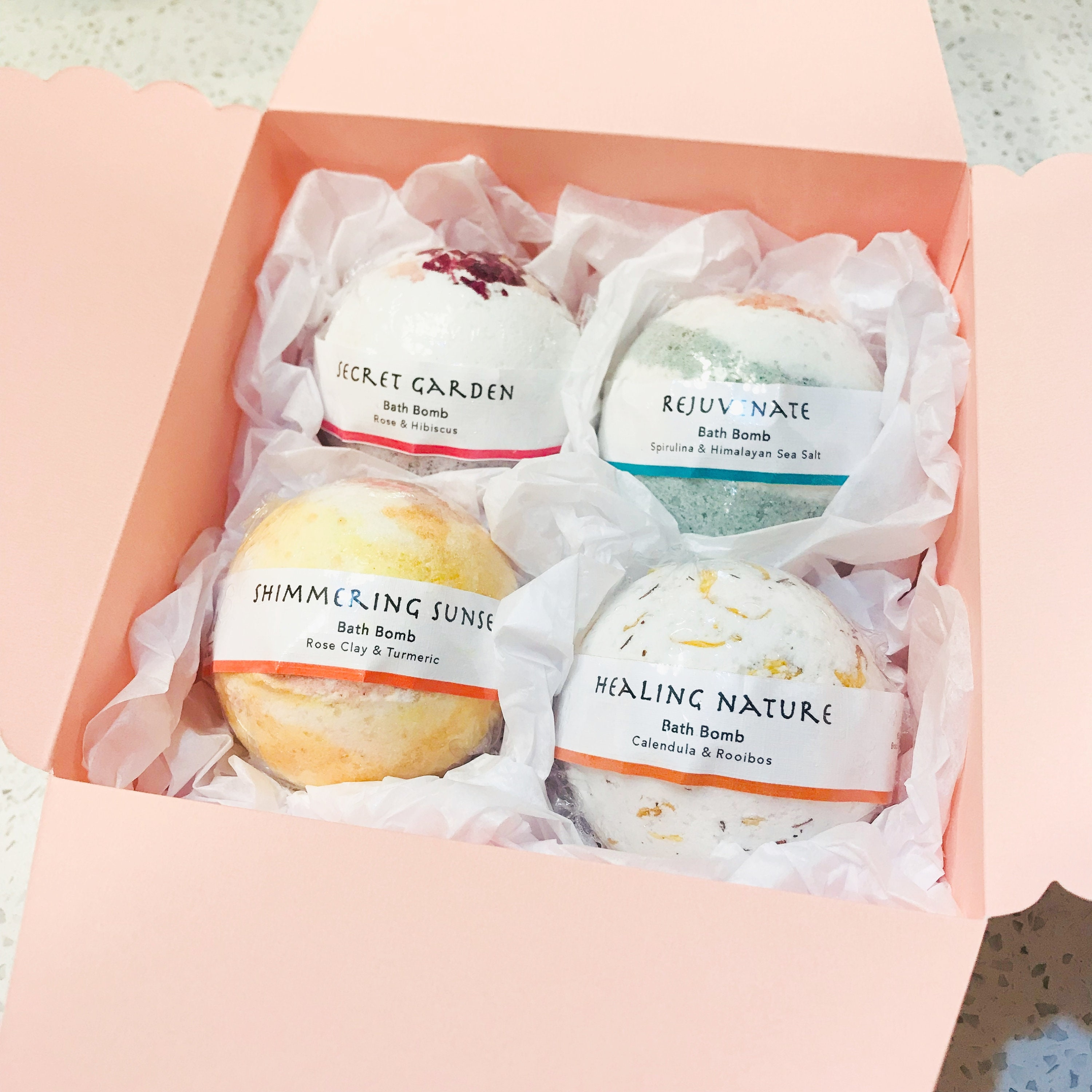 Bath Bomb Gift Set Assorted All Natural Bombs Large Etsy Secret Garden Exfoliating Loofah Soap