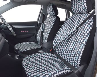 Car seat covers, steering wheel cover, car accessories for women