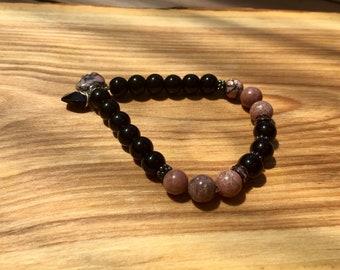 Bracelet semi-precious stones