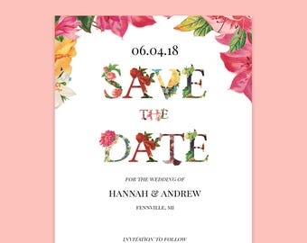 Charming Vintage Wedding Save The Dates