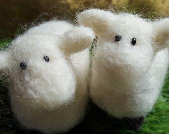 The cutest felt sheep ever