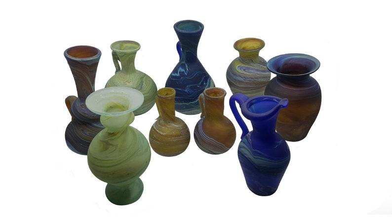 Phoenician Glass Mini Vase image 0