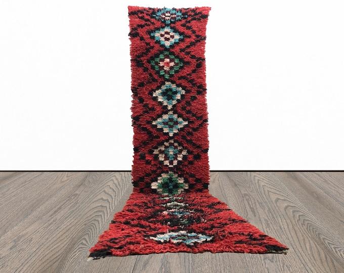 3x12 ft ONE of a kind Moroccan Berber Vintage runner rug!
