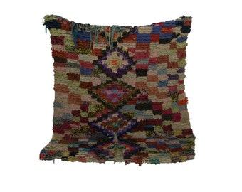 Boucherouite woven Vintage rug 4x7, Moroccan berber Bohemian azilal rugs!