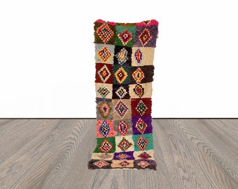 2x8 ft Moroccan colorful   runner rug!