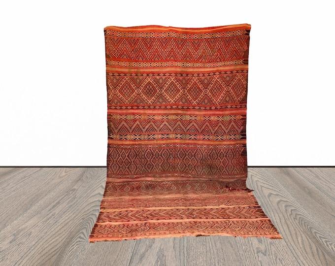 5x11 ft Berber large Moroccan kilim rug!