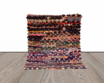 4x5 ft Moroccan colorful area rug!