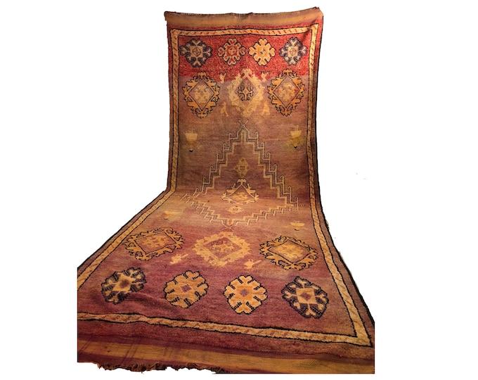6x15 vintage Extra Large rug, Morrocan Berber Bohemian Tribal rugs, Moroccan woven Boho rug