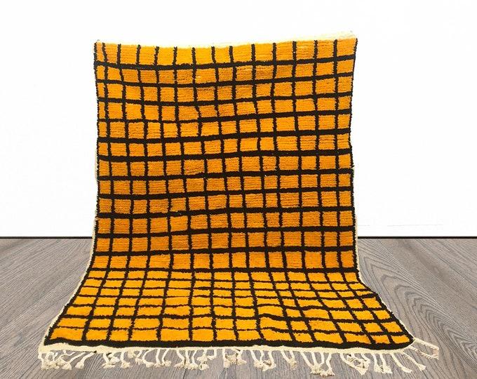 Moroccan Berber Grid rug!