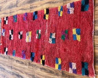 Moroccan vintage runner rug 3x10 ft!