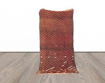 3x6 ft Moroccan checkered area rug!