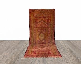 Large Moroccan vintage rug 6x15 ft!