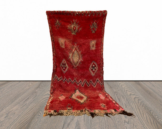 6x8 ft large colorful Moroccan rug!