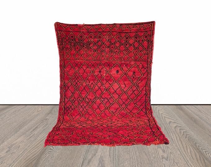 Large Berber Moroccan rug 6x10 ft!