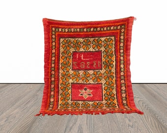 Small vintage Moroccan rug 3x4 ft!