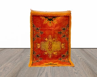 2x3 ft Moroccan small area rug!