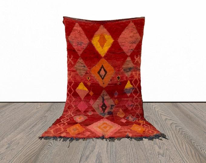5x9 ft large Moroccan vintage rug!