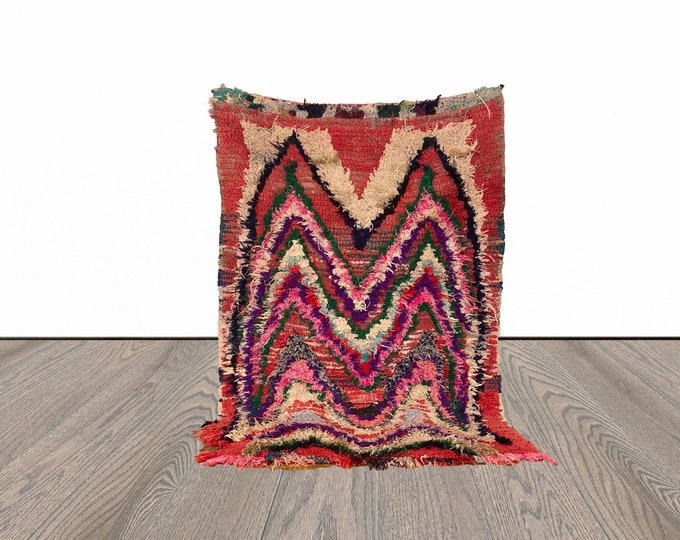 3x5 ft Moroccan small area rug!