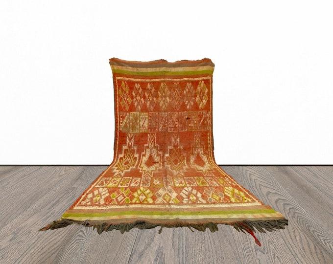 6x12 ft vintage large Moroccan Berber rug!