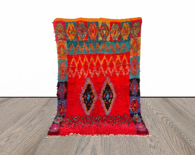 5x10 ft vintage Berber Moroccan rug!