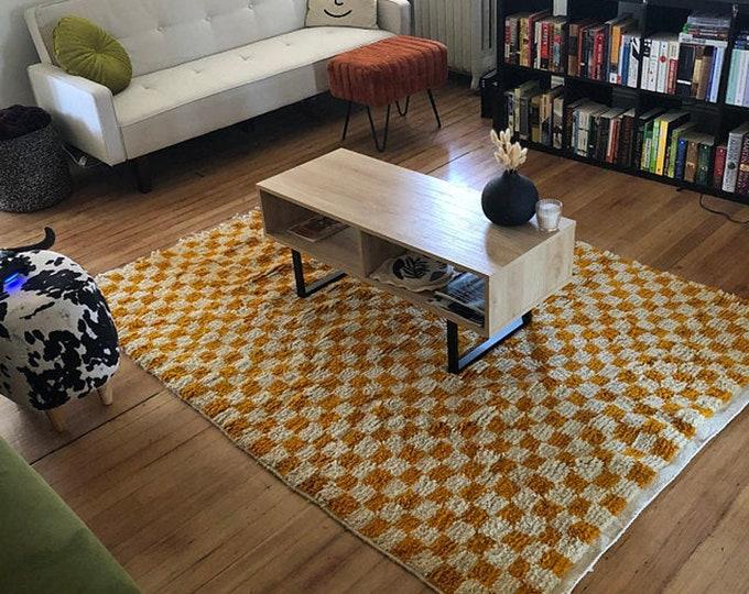 """Checkered area rug! """"Ready to ship"""""""