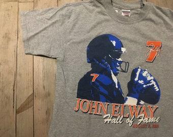 John Elway Denver Broncos - Hall of Fame T Shirt - DENVER 7e4d11771