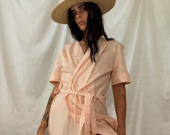Blush kimono dress