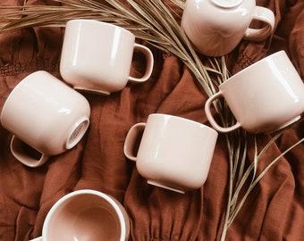 Blush mugs
