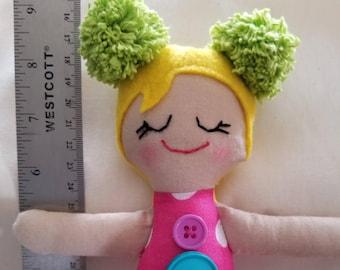 Pom Pom mini doll