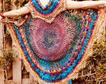 Light Weight Mandala Prayer Sweater