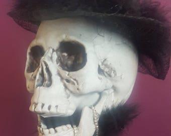 Halloween skull decor