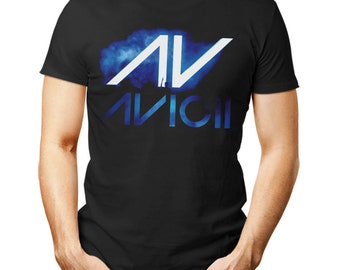 ffd3d5fd2e0b9 AVICII unisex T Shirt music Hardwell DJ Dance techno trance woman man gift  EDM
