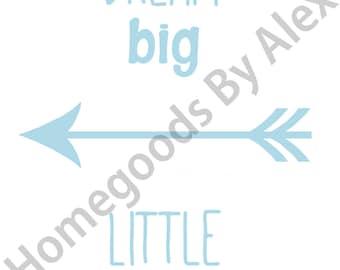 Dream Big Little One Blue