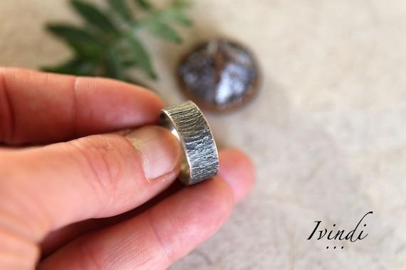 precio oficial muchas opciones de compras Anillo plata, anillo plata hombre, anillo plata mujer, anillo textura,  anillo compromiso, anillo natural, joyería natural, joyería orgánica