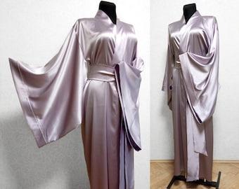 Purple kimono robe  c3c1b32cd