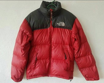 be97f4d102de8 The North Face Nuptse Goose Down Puffer Jacket With Stow Pocket
