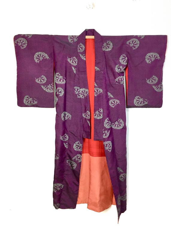 Fan Design Japanese Kimono , Long Cardigan , Cover