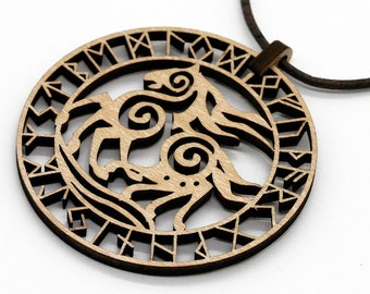Sleipnir Chain Pendant