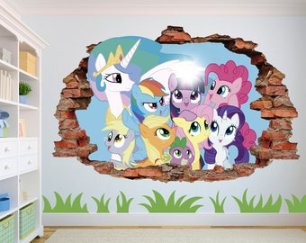 My Little Pony Decal Etsy