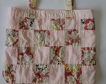 Patchwork Tote Bag - Upcycled Material