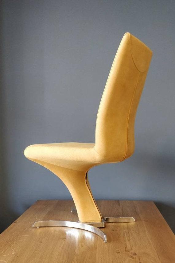 Die Z Esstisch Stühle Küche gepolsterte Stühle Samtstühle | Etsy