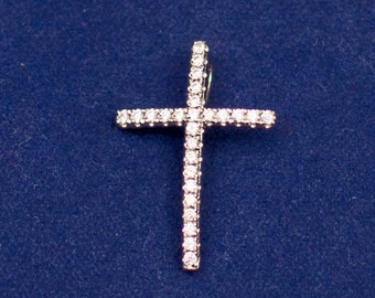 Holy Cross Pendant - Sterling Silver 925