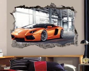 Lamborghini Decal Etsy