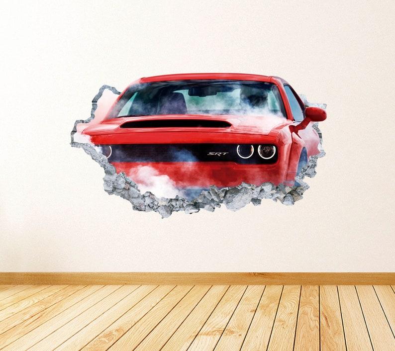 Alfa Romeo Logo Wall Decal Luxury Sport New Car Decor Art Mural Vinyl Sticker