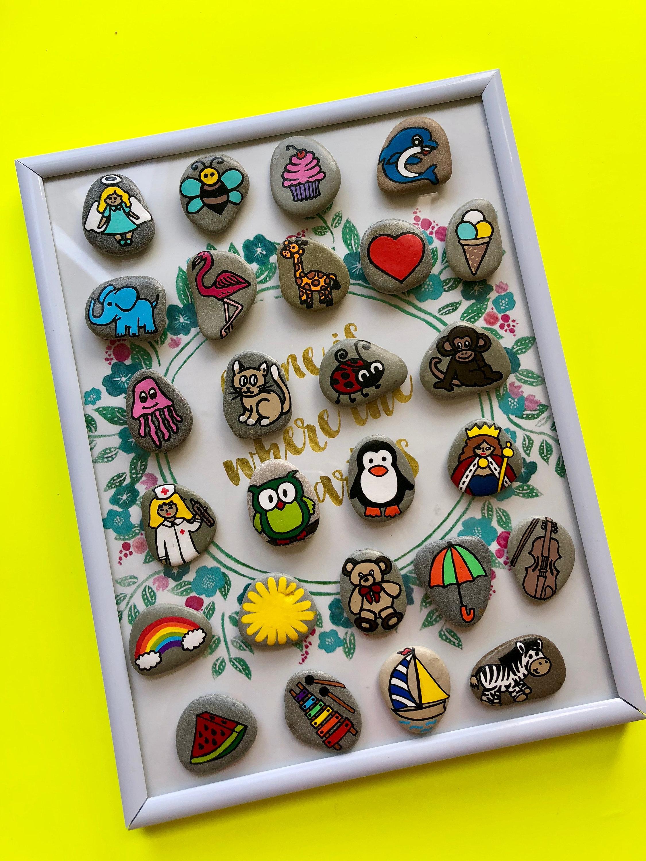 Alphabet Montessori Toy, Educational Gift for Girl, Preschool Teacher  Recourse