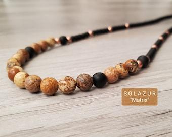 "Solazur necklace ""Matrix"""