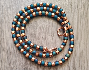 "Solazur necklace ""Pavo"""